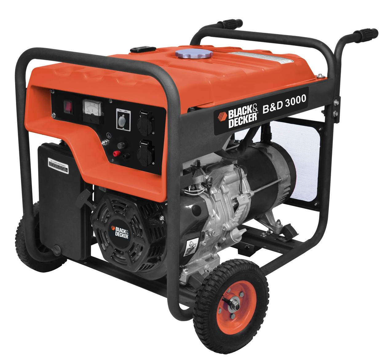 Black & Decker BD 3000 Petrol Generator