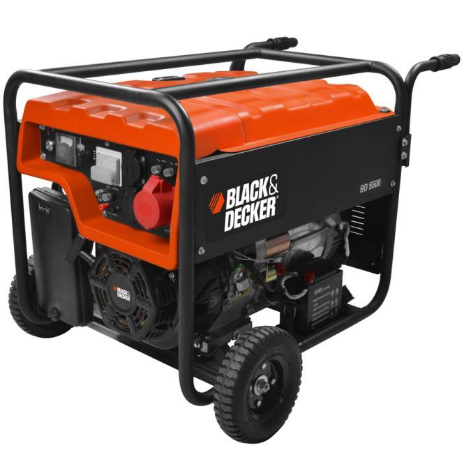 Black & Decker BD 5500 Petrol Generator