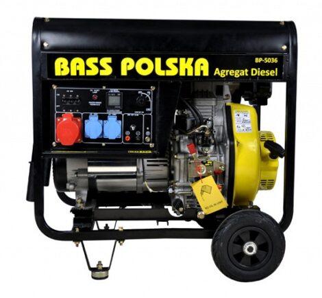 Bass Polska 8500 Diesel Generator