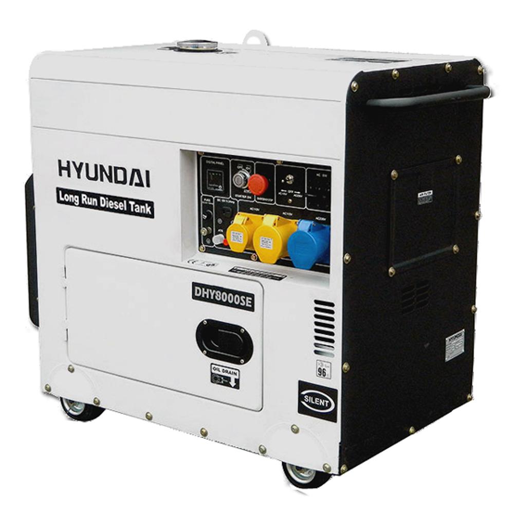 Hyundai Dhy8000selr Diesel Generator Standby Hyundai