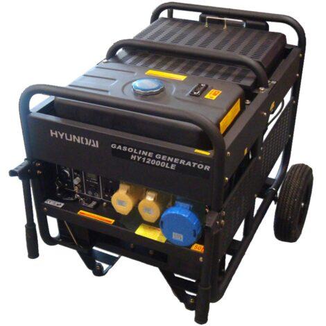 Hyundai HY12000LE Petrol Generator