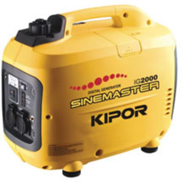 Kipor IG2000P Petrol Generator   Kipor Suitcase Generators