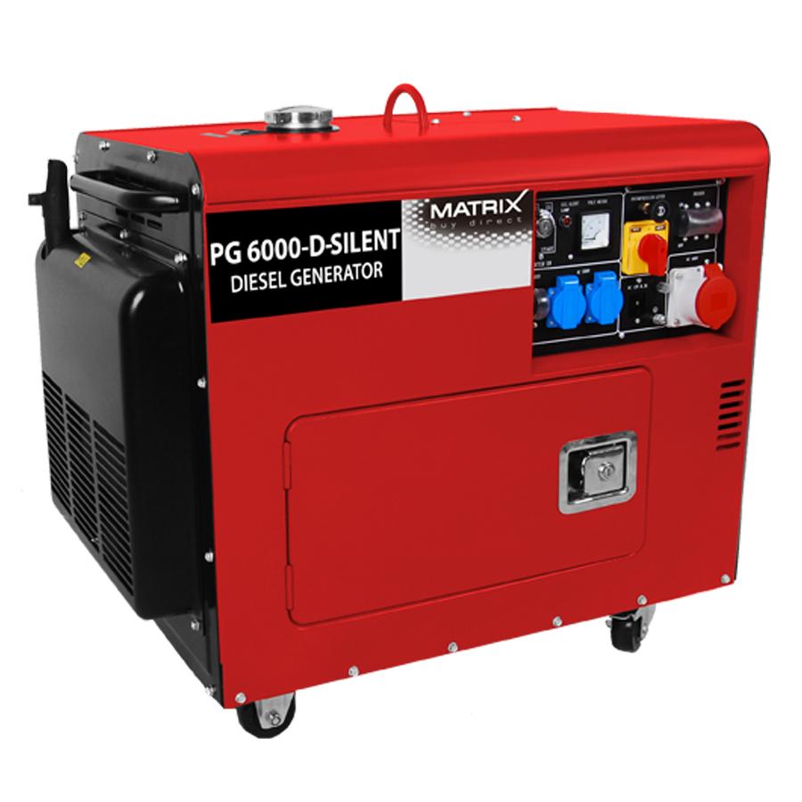 Matrix PG 6000-D-Silent Diesel Generator