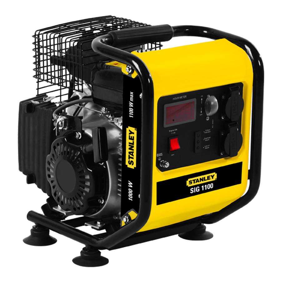 Stanley SIG 1100 Petrol Generator | SIG 1100 Inverter