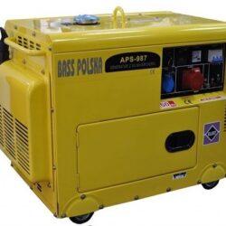 Bass Polska 5500 Silent Diesel Generator