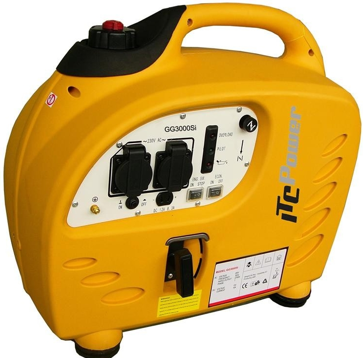 ITC Power GG3000Si Petrol Generator | Compact and Silent