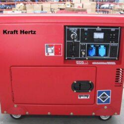 KH6600D Diesel Generator Kraft Hertz