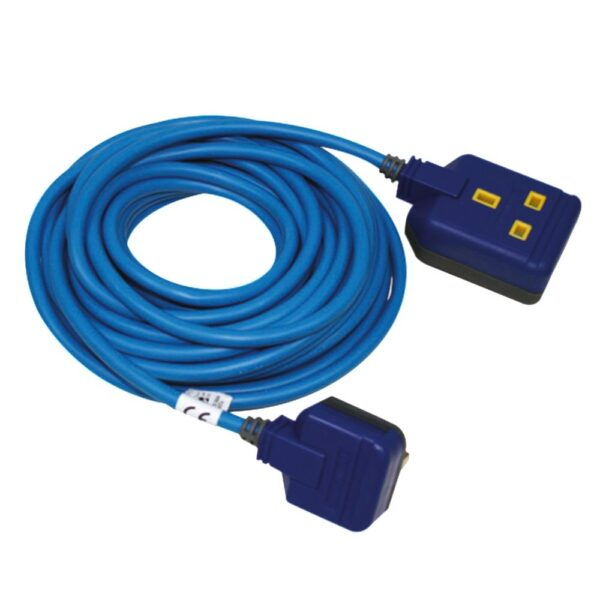 UK 3 pin extension cord