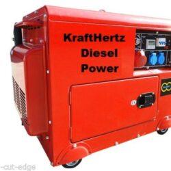 KH6600D 6 Kva Diesel Generator Kraft Hertz Super Silent