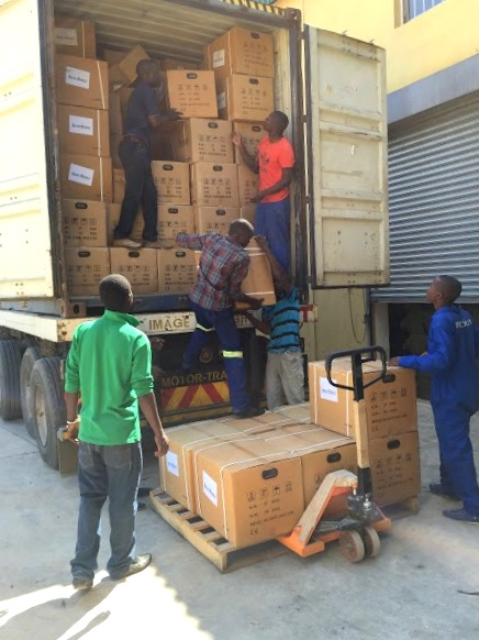 Kraft Hertz KH3000 Petrol Generator delivered to Zambia's Upcoming Election