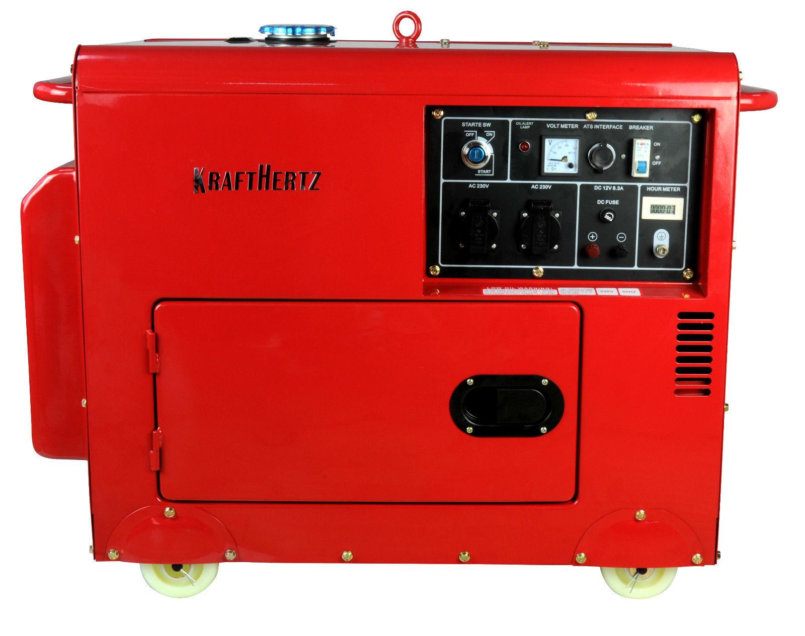 KH6600 Diesel Generator Germany Silent E Start ATS