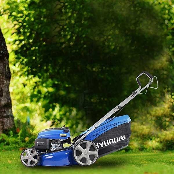Hyundai Hym510sp Lawnmower Self Propelled 173cc Petrol Lawn Mower