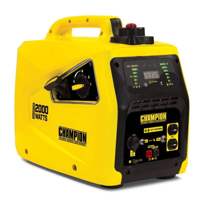 Champion 82001l-E the most silent combustion generator